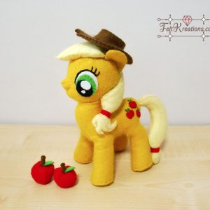 felt apple jack plush patterns