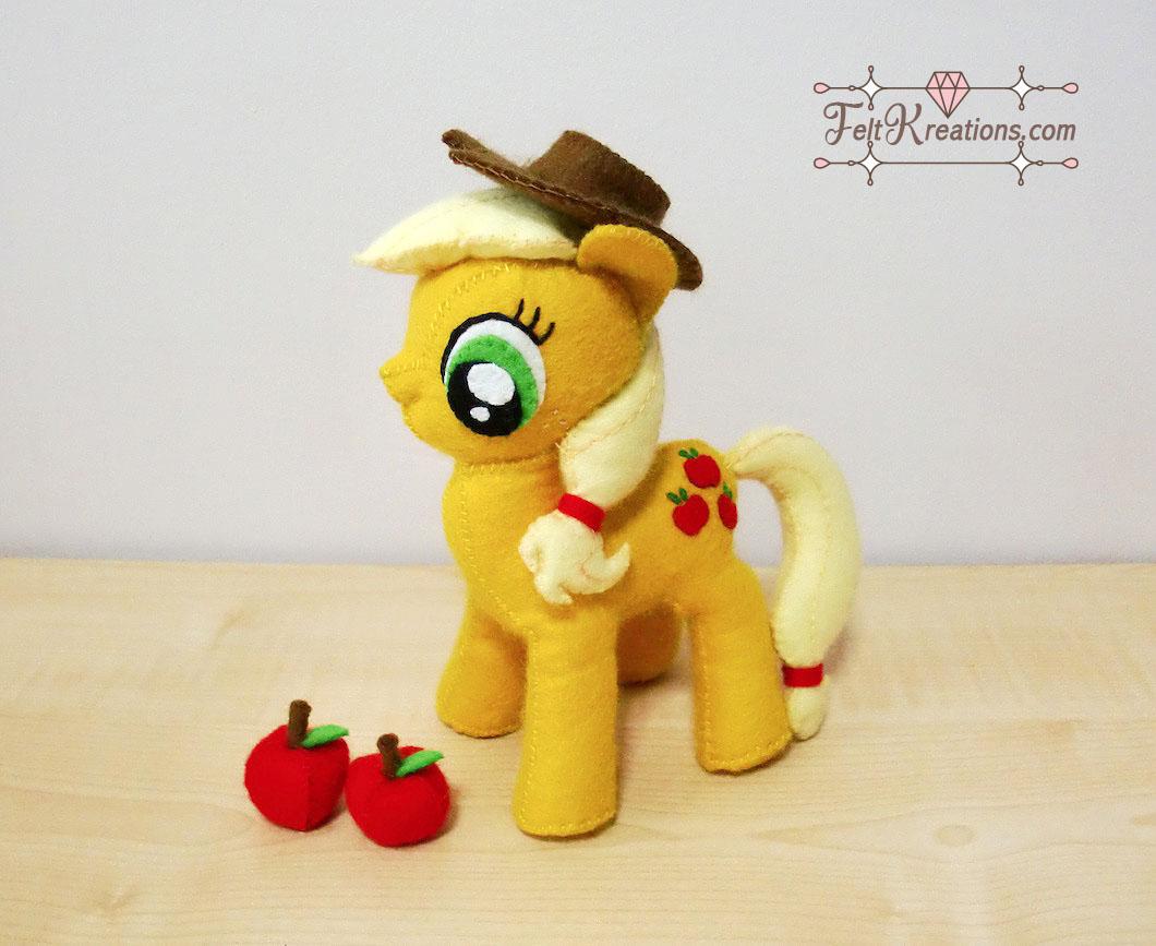 felt apple jack plush patterns