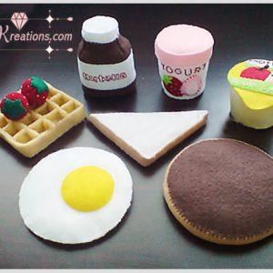 felt waffle breakfast pattern pdf ebook