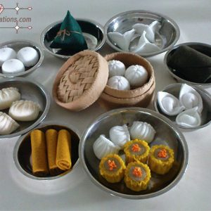 felt dim sum patterns felt food pattern diy pdf ebook tutorials
