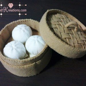 felt dim sum bao patterns felt food pattern diy pdf ebook tutorials
