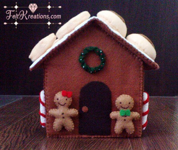 felt christmas gingerbread house patterns pdf ebook
