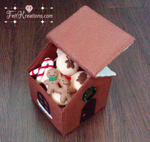 felt christmas gingerbread house patterns pdf ebook