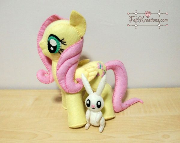 felt fluttershy sewing patterns ebook
