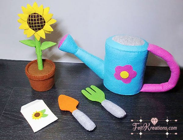 felt gardening patterns tutorials sunflower felt pattern pdf ebook