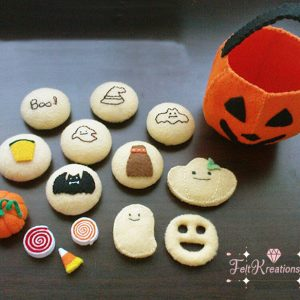 felt halloween jack-o-lantern pattern how do felt pattern