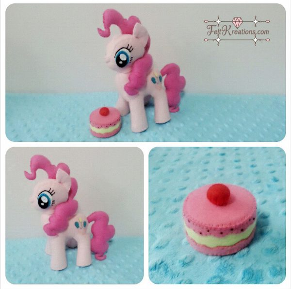 felt pinkie pie patterns