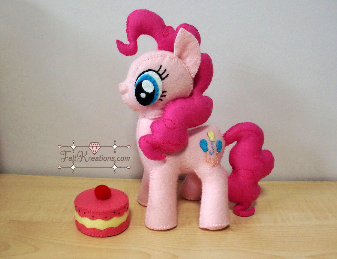 DIy my little pony felt pattern pdf ebook