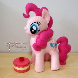 pinkie pie sewing pattern