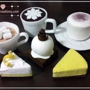 felt cafe barista pattern tutorials pdf ebook