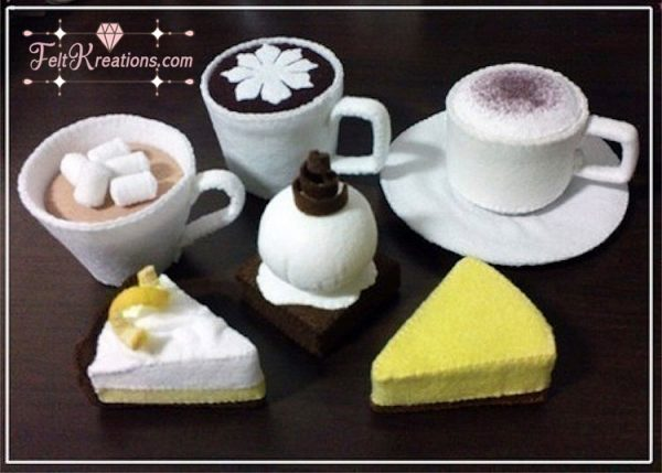 felt cafe barista pattern tutorials pdf ebook