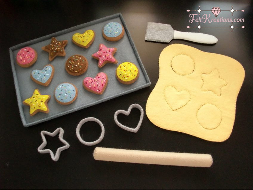 felt cookies patterns baking felt pattern pdf ebook