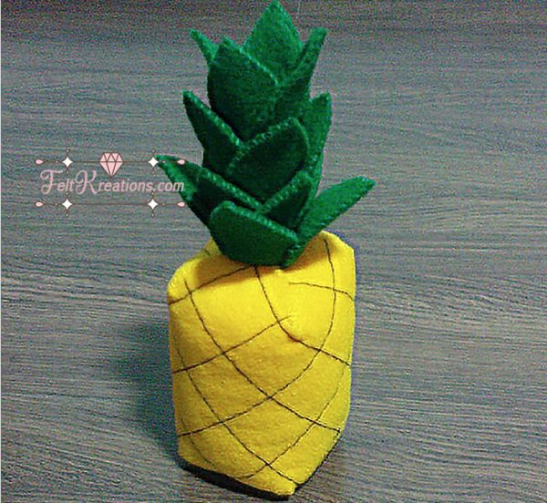 felt pineapple pattern felt fruits patterns pdf ebook