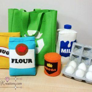 felt recycle bag patterns grocery felt pattern pdf ebook