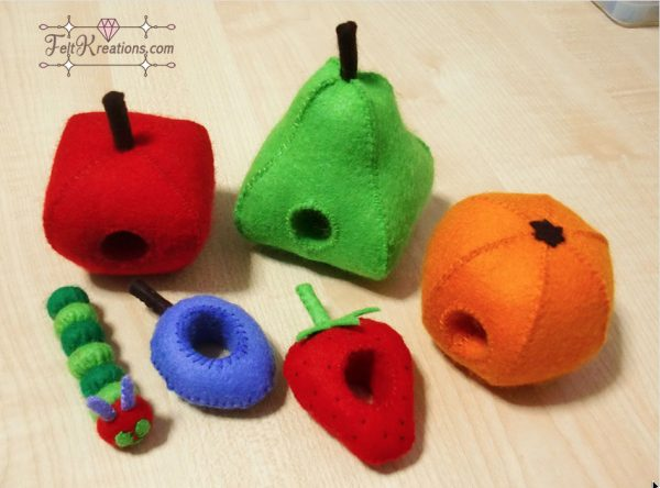 felt hungry caterpillar patterns felt toy pattern pdf ebook