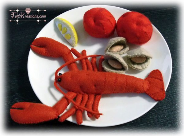 felt lobster pattern fine dining felt pattern pdf ebook