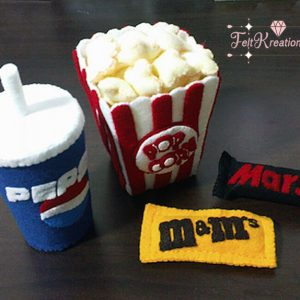 felt movie patterns popcorn soda felt pattern pdf ebook