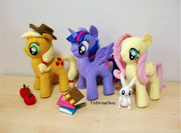 felt my little pony plush patterns