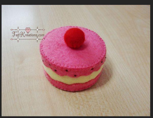 pinkie pie cake pattern felt sewing