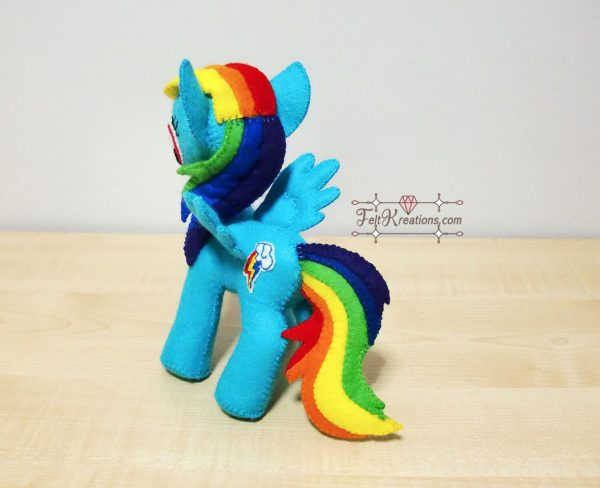 how to sew my little pony plush
