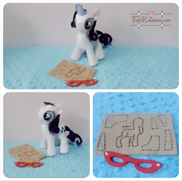 MLP my little pony sewing pattern