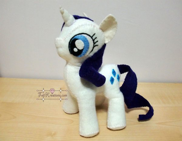 my little pony sewing pattern