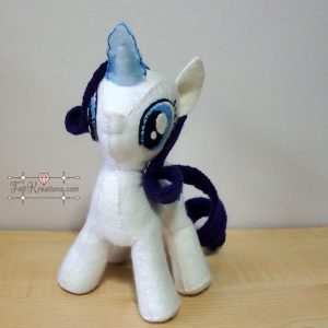felt rarity mlp pattern