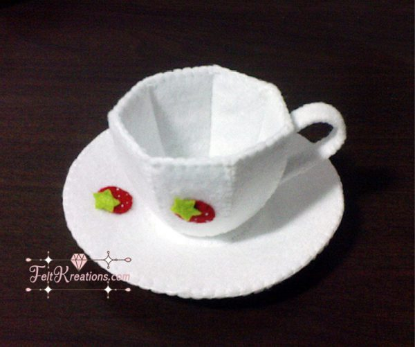 felt tea cup pdf patterns