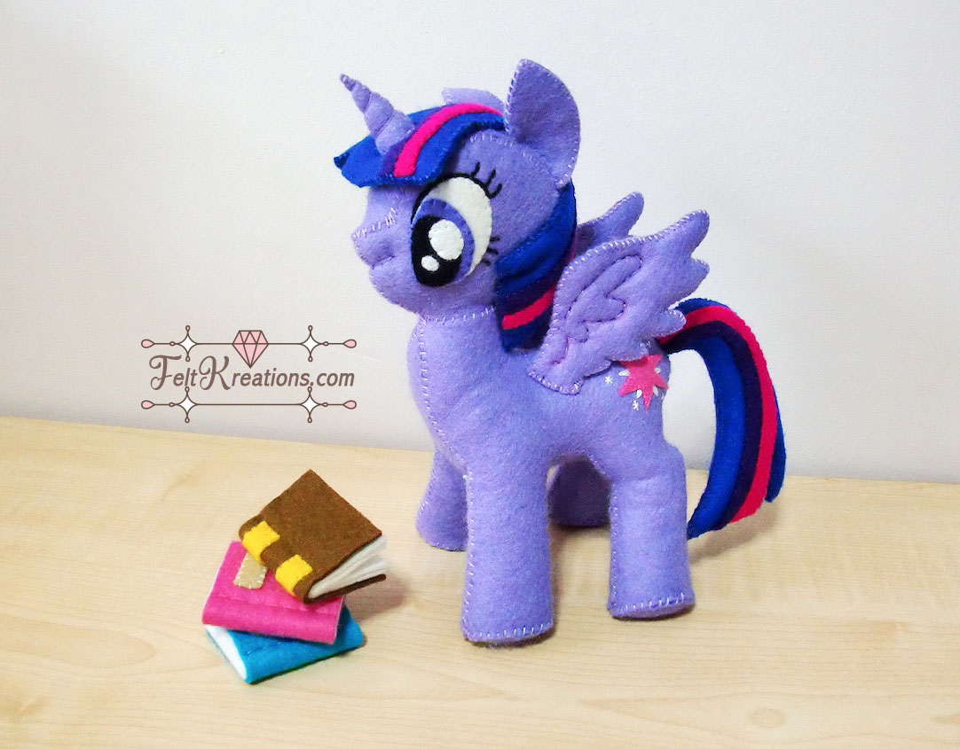 felt MLP twilight sparkle