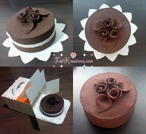 felt chocolate cake patterns felt cake pattern pdf ebook