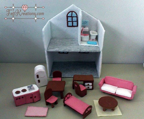felt dollhouse pattern pdf felt patterns ebook