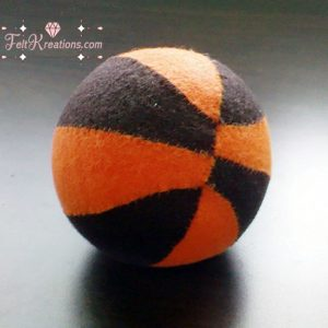 felt basketball pattern