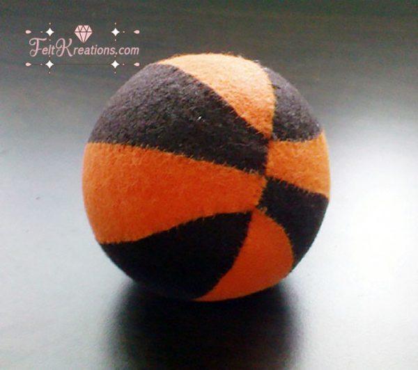 felt basketball pattern
