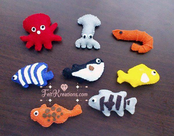 felt fishing toy patterns