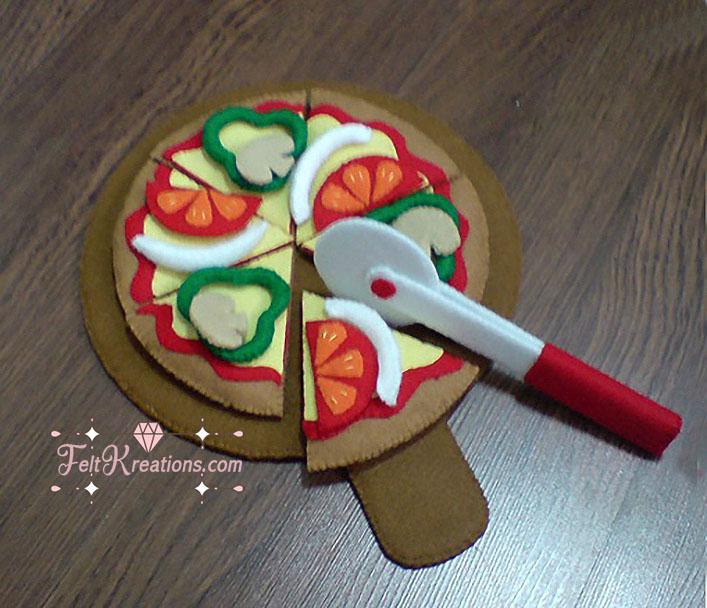 felt pizza patterns