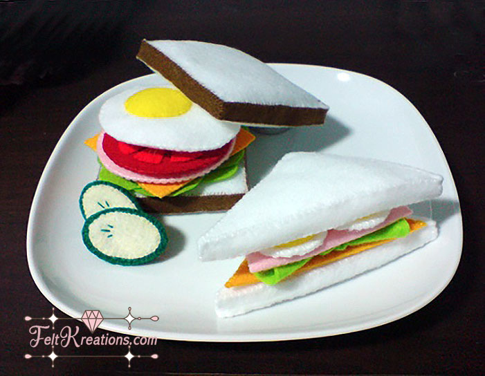 felt sandwiches patterns pdf ebook