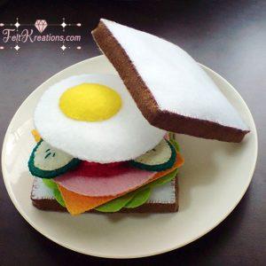 felt sandwiches patterns ebook
