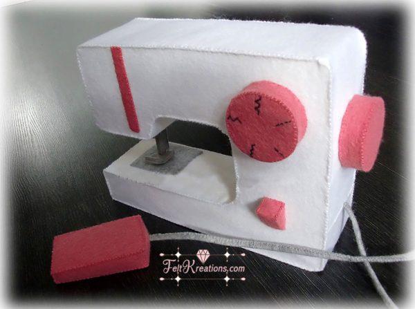 felt sewing machine patterns