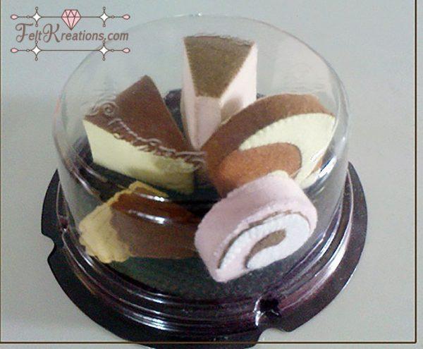 felt patterns tea time cake felt patterns