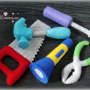 felt tools patterns