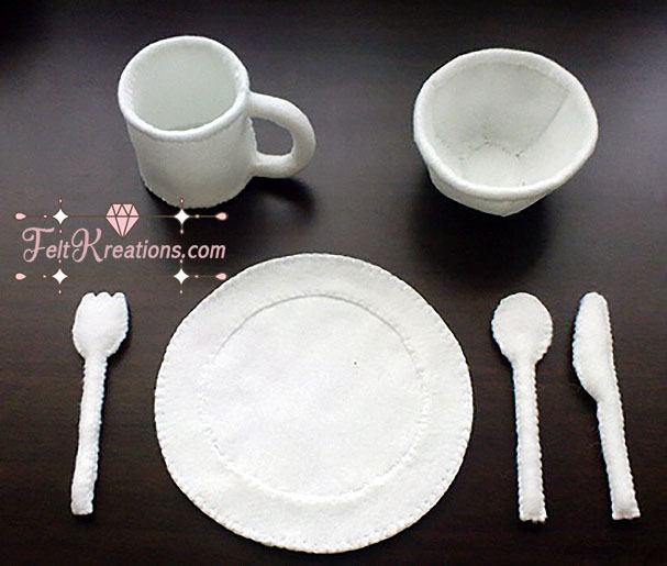 felt utensils sewing patterns