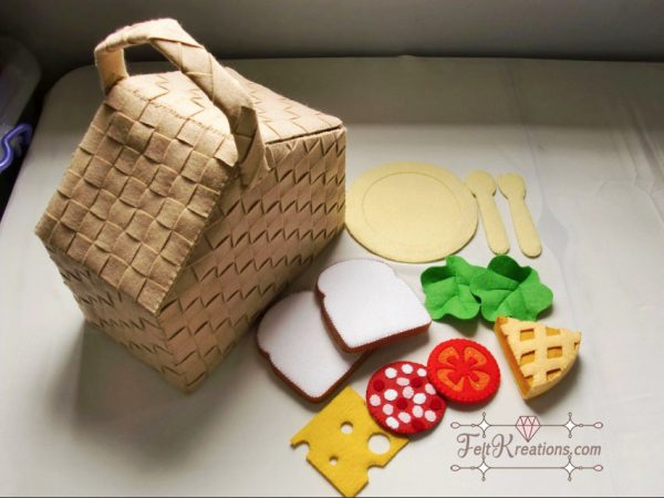 fely picnic basket pattern sewing patterns
