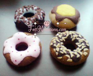 doughnut felt pattern