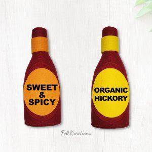 felt bbq sauce pattern