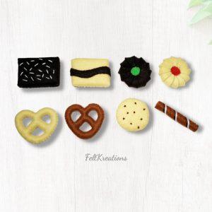 felt cookies patterns
